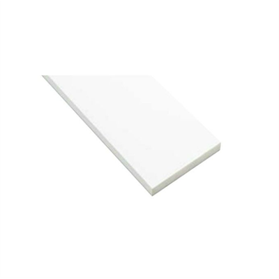 Image for SP-N7505M24-UW 抗菌樹脂枠 三方枠 ムクタイプ 中間サイズ ウッドホワイト 間口=1600mm