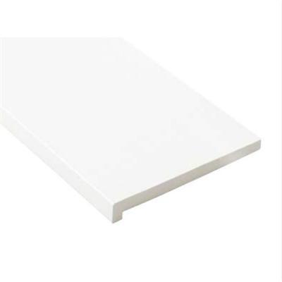 Image for SP-8005-WT 抗菌樹脂枠 三方枠 L字タイプ 幅広サイズ ホワイト 間口=1600mm