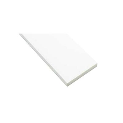 Image for SP-N7504M24-WT 抗菌樹脂枠 三方枠 ムクタイプ 中間サイズ ホワイト 間口=2200mm