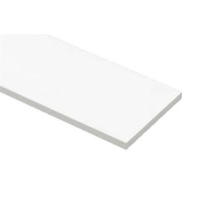 Image for SP-N9003M18-WT 抗菌樹脂枠 三方枠 ムクタイプ 厚み18mm ホワイト 間口=800mm
