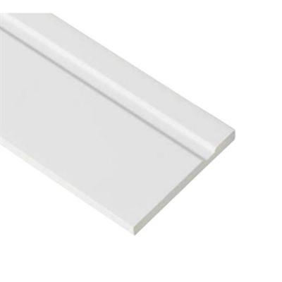 Image for SP-SK120M-L23-WT 抗菌樹脂枠 隙間化粧カバー ムクタイプ ホワイト 7mm×120mm×2380mm