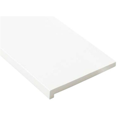 Image for SP-8003-WT 抗菌樹脂枠 三方枠 L字タイプ 幅広サイズ ホワイト 間口=800mm