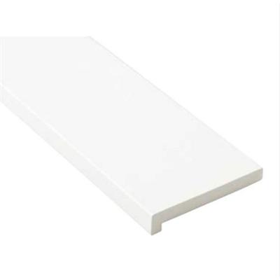 Image for SP-7003-WT 抗菌樹脂枠 三方枠 L字タイプ 標準サイズ ホワイト 間口=800mm