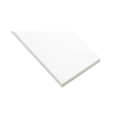 Image for SP-N8003M24-WT 抗菌樹脂枠 三方枠 ムクタイプ 幅広サイズ ホワイト 間口=800mm