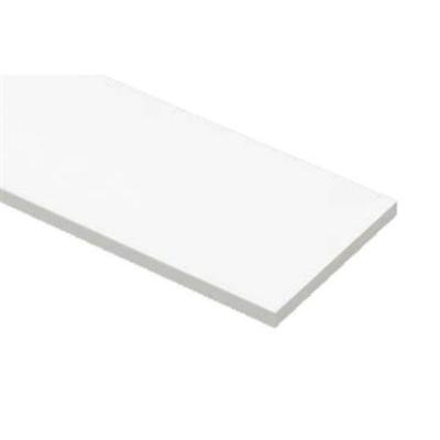 Image for SP-N9005M18-WT 抗菌樹脂枠 三方枠 ムクタイプ 厚み18mm ホワイト 間口=1600mm