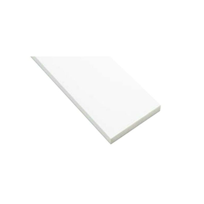 Image for SP-N7505M24-WT 抗菌樹脂枠 三方枠 ムクタイプ 中間サイズ ホワイト 間口=1600mm