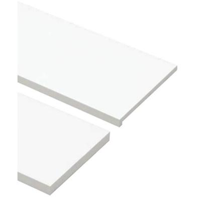 Image for SP-8003UM24-WT 抗菌樹脂枠 三方枠 複合タイプ 幅広サイズ ホワイト 間口=800mm