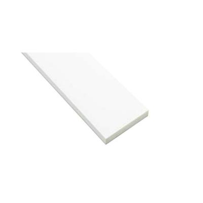 Image for SP-N7004M24-WT 抗菌樹脂枠 三方枠 ムクタイプ 標準サイズ ホワイト 間口=2200mm