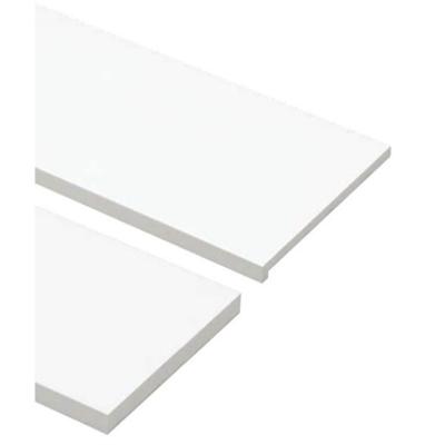 Image for SP-8005UM24-WT 抗菌樹脂枠 三方枠 複合タイプ 幅広サイズ ホワイト 間口=1600mm