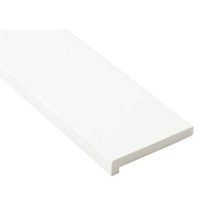 Image for SP-7004-WT 抗菌樹脂枠 三方枠 L字タイプ 標準サイズ ホワイト 間口=2200mm