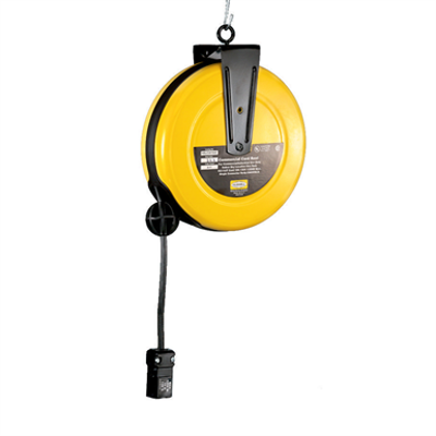 Image for Cord and Cable Reels, Commercial Cord Reel, 25' With HBL5969VBLK Connector Body, Yellow - HBLC25163C