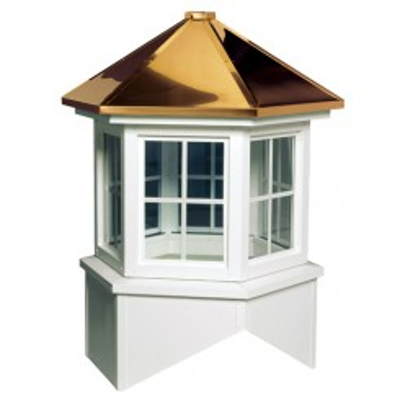 Image for Nantucket Series Windowed Cupola Is A Hexagon With A Hip Style Roof
