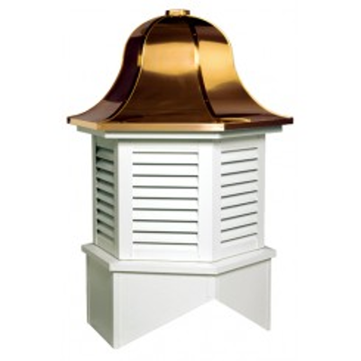 Image for Richmond Series Louvered Cupola Is A Hexagon With A Bell Style Roof