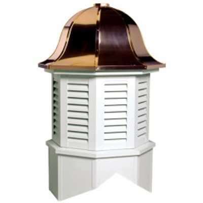 Image for Bedford Series Louvered Cupola Is An Octagon With A Bell Style Roof