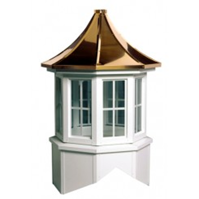 Image for Oxford Series Windowed Cupola Is An Octagon With A Pagoda Style Roof