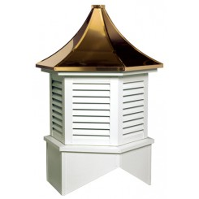 Image for Madison Series Louvered Cupola Is A Hexagon With A Pagoda Style Roof