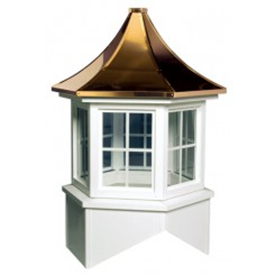 Image for Davenport Series Windowed Cupola Is A Hexagon With A Pagoda Style Roof