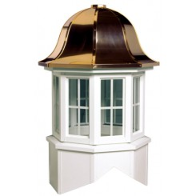 Image for Arlington Series Windowed Cupola Is An Octagon With A Bell Style Roof