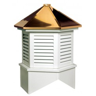 Image for Estate Series Louvered Cupola Is A Hexagon With A Hip Style Roof