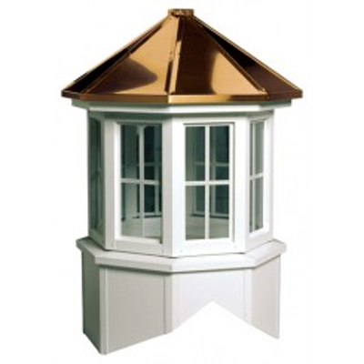 Image for Lexington Series Windowed Cupola Is An Octagon With A Hip Style Roof