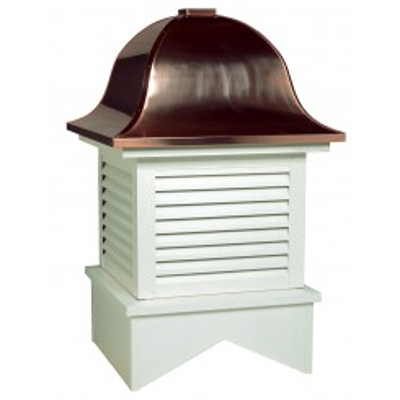 Image for Charleston Series Louvered Cupola Is Square With A Bell Style Roof