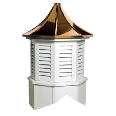 Image for Providence Series Louvered Cupola Is An Octagon With A Pagoda Style Roof
