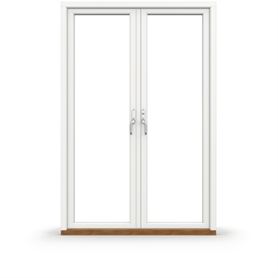 Image for Tanum Outward opening Double Balcony door with Aluminium Cladding