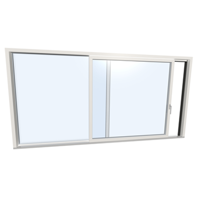 Image for Slidingdoor double UPVC-ALU Internorm KS430 A