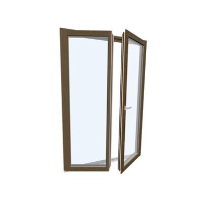 Image for Windowdoor double Wood-ALU Internorm HF410 5T