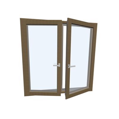 Image for Window double Wood-ALU Internorm HF410 3