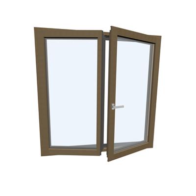Image for Window double Wood-ALU Internorm HF410 5