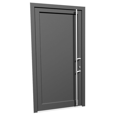 Image for Door single ALU Internorm AT200