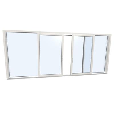Image for Slidingdoor quad UPVC-ALU Internorm KS430 C