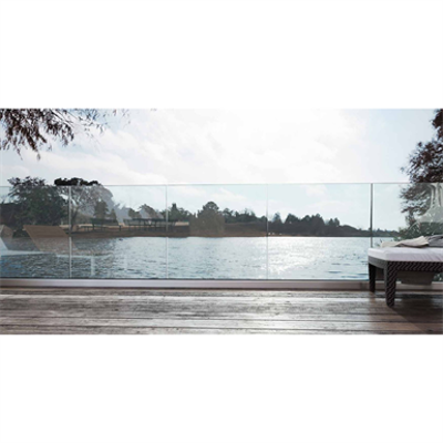 Image for Ninfa 105, minimale and performing glass railing