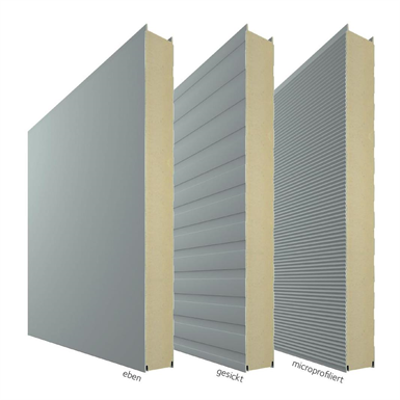 รูปภาพสำหรับ PIR insulated sandwich panel Ondatherm®1003