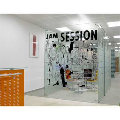 Image for Elite™ Freestanding Glass Partition System