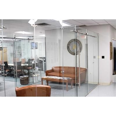 Image for Eclipse™ Sliding Glass Barn Doors