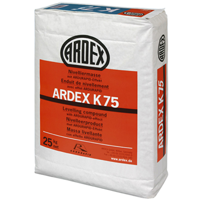 Image for ARDEX K 75 - Completely mixed coarse straightening mass