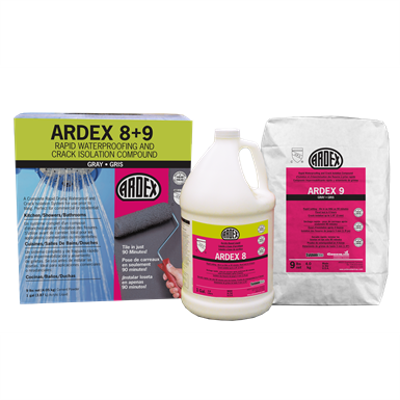 Image for ARDEX 8+9™ Rapid Waterproofing and Crack Isolation Compound 
