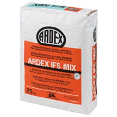 Image for ARDEX IFS MIX - Self-leveling mortar in medium and thick layer for continuous floors in industrial areas