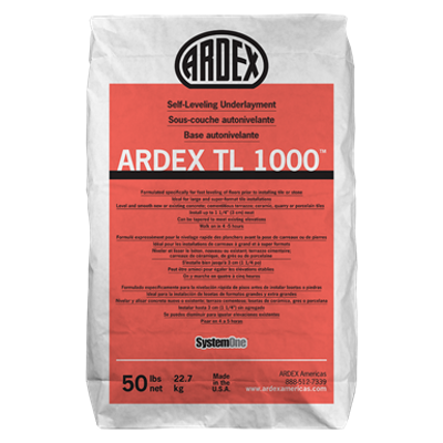 Image for ARDEX TL 1000 Self Leveling Underlayment