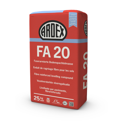 Image for ARDEX FA 20 - Fibre Reinforced Levelling and Smoothing Compound for Timber Floors