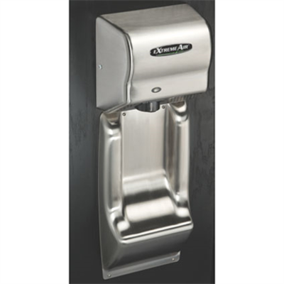 Image for ADA Compliant Seamless Stainless Steel Wall Guard