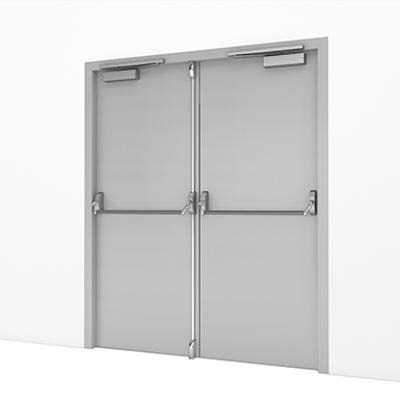 Image pour Steel Door, Fire Exit – Double