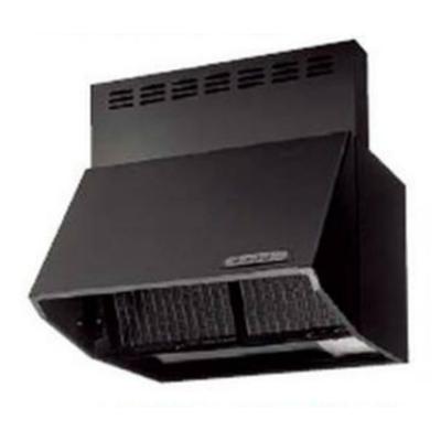 Image for レンジフード シロッコファン式 ブラック BDR-3HL-6016TNBK