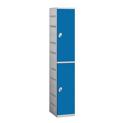 92000 Series Plastic Lockers - Double Tier - 1 Wide图像