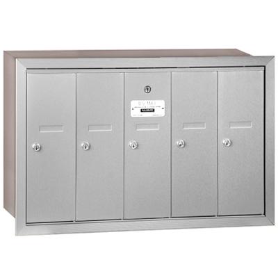 afbeelding voor 3500 Series Recessed Mounted 4B+ Vertical Mailboxes