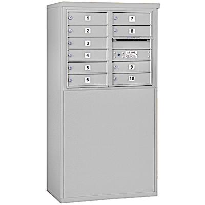 afbeelding voor 3900 Series Free-Standing 4C Horizontal Mailboxes - 6 Door High Units