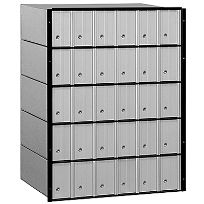 afbeelding voor 2200 Series Aluminum Mailboxes-Standard System