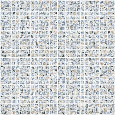 Image for COTTO Mosaic Tile SPRING FLOWER